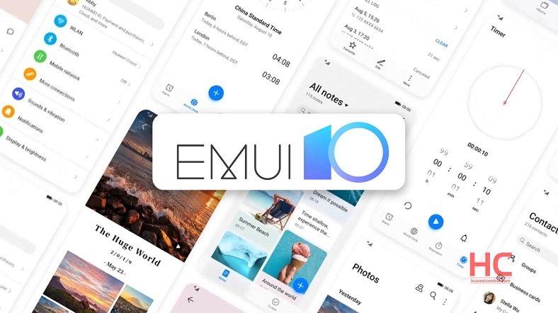 EMUI 10 güncellemesi