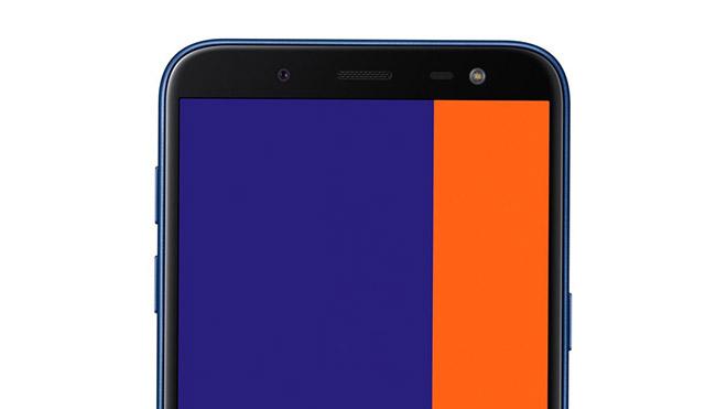 150 $ telefonoak Samsung-en; Galaxy J4 +