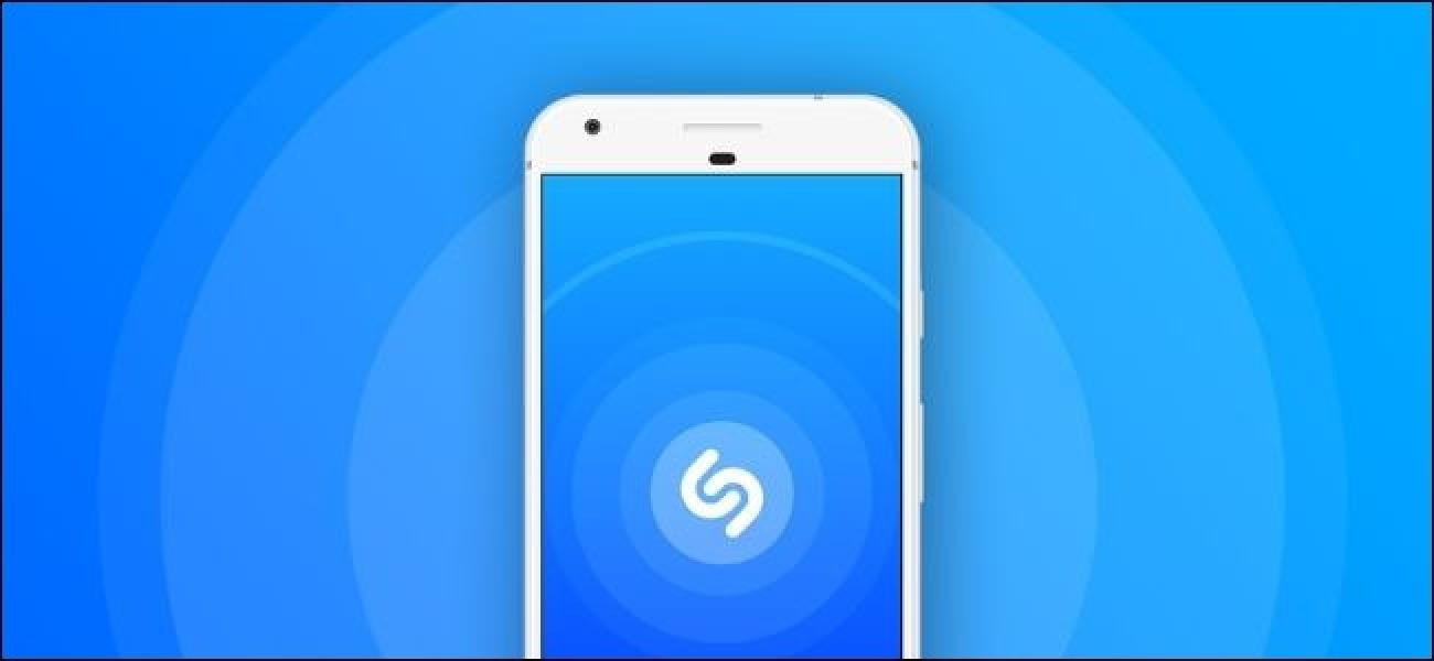 Nola funtzionatzen dute Shazam musika-identifikaziorako aplikazioak?