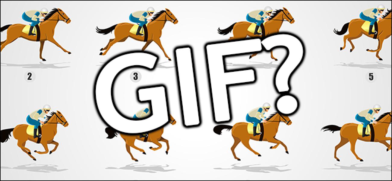 Zer da GIF bat eta nola erabiltzen dituzu?