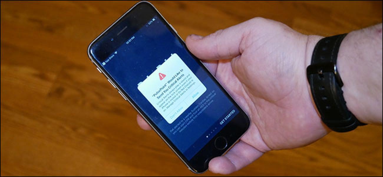 Zer dira iPhone eta iPad alerta kritikoak eta nola gaitzen ditut?