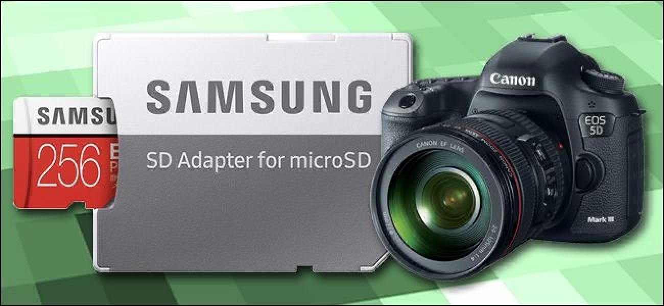 Zergatik ez zenuke MicroSD Txartelak erabili behar DSLR edo Ispilurik gabeko Kameretan