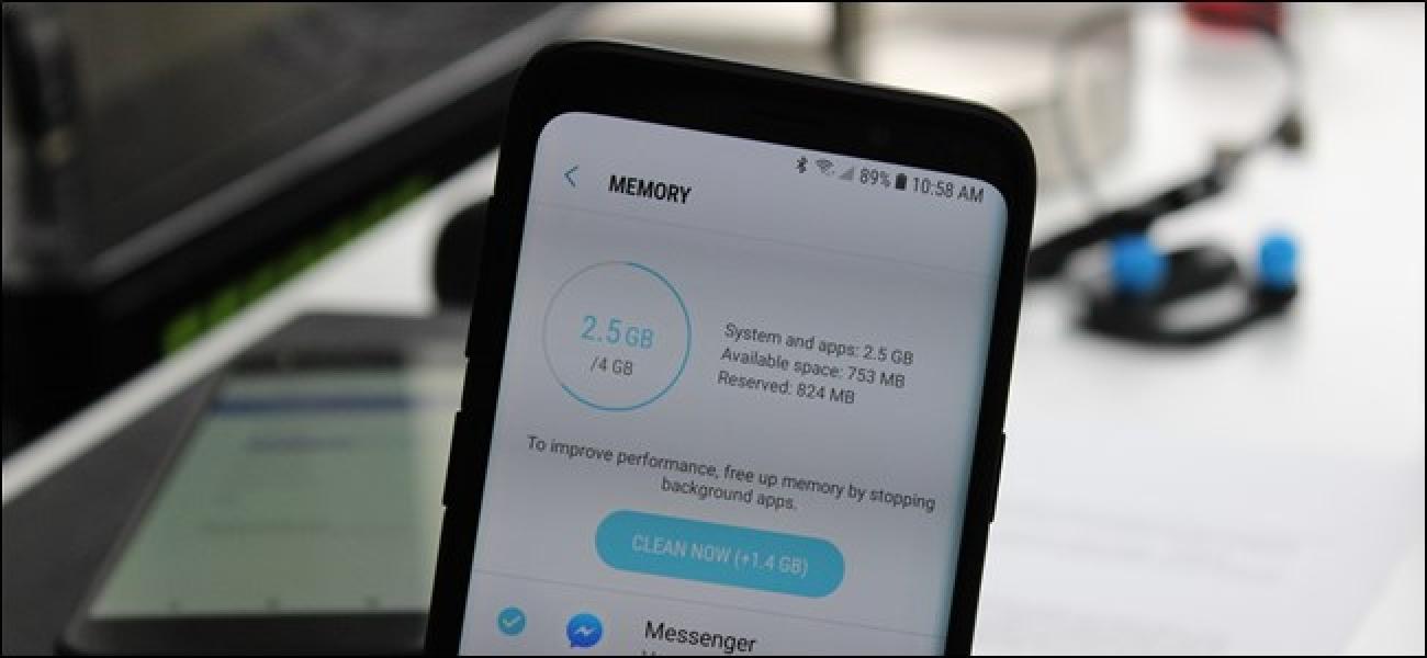 Zenbat RAM behar du Android telefono batek?