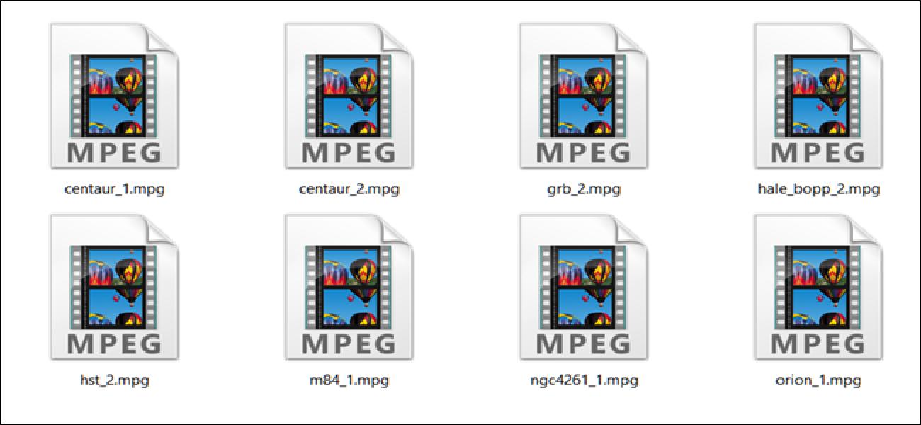 Zer da MPEG fitxategi bat (eta nola ireki dezaket)?