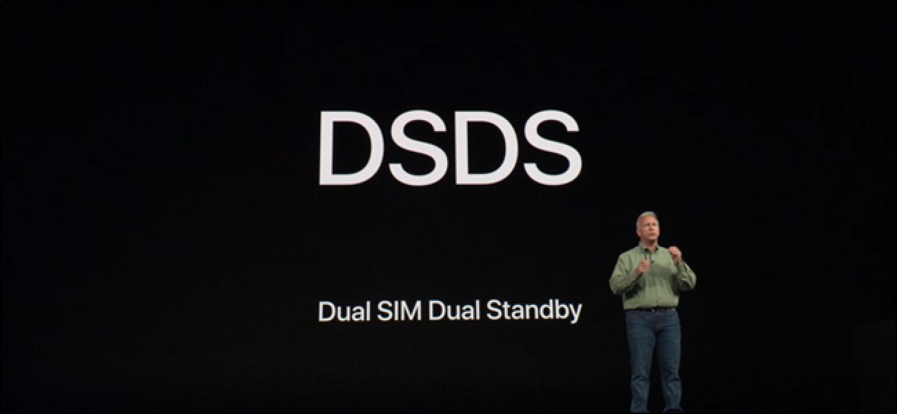 SIM bikoitzeko laguntza nola funtzionatzen duen iPhone X serie berrian
