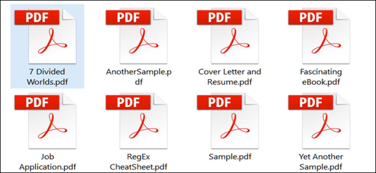 Zer da PDF fitxategi bat (eta nola irekitzen dut)?