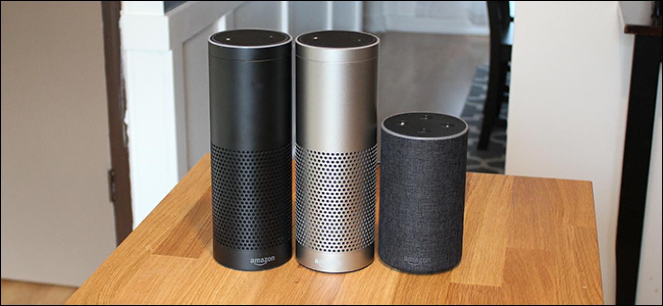 Zein Amazon Echo Erosi behar al dut? Echo vs Dot vs Show vs. Plus eta gehiago