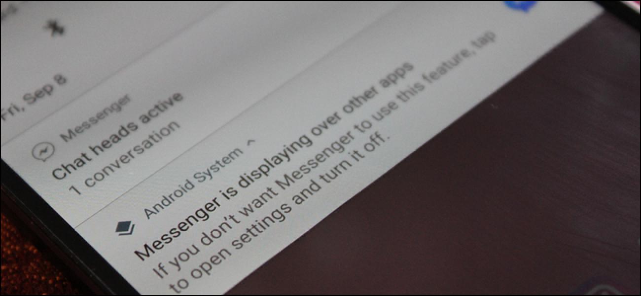 """Nola desgaitu """"Oreo beste aplikazio batzuen gainetik"""" Android Oreo-n jakinarazpena"""