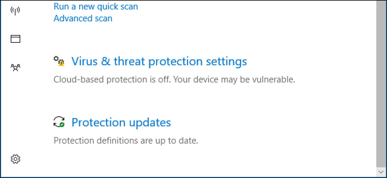 """Nola egin Windows Defentsaren """"Lagin automatikoen bidalketa"""" eta """"Hodeian oinarritutako babesa"""" funtzionatzen du?"""
