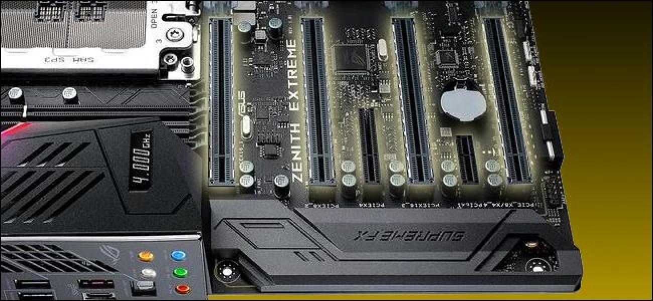 Zergatik daude PCI Express portuak nire plakaren tamaina desberdinak? x16, x8, x4 eta x1 Azaluak