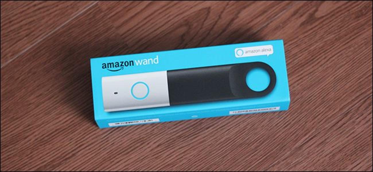 Zer Amazon Dash Wand Can (eta Ezin da) Egin