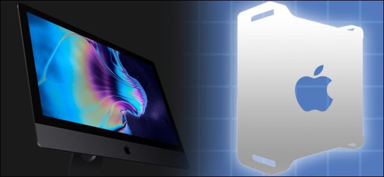 IMac Pro erosi behar duzu, edo itxaron Mac Pro Modularra berriro diseinatu?