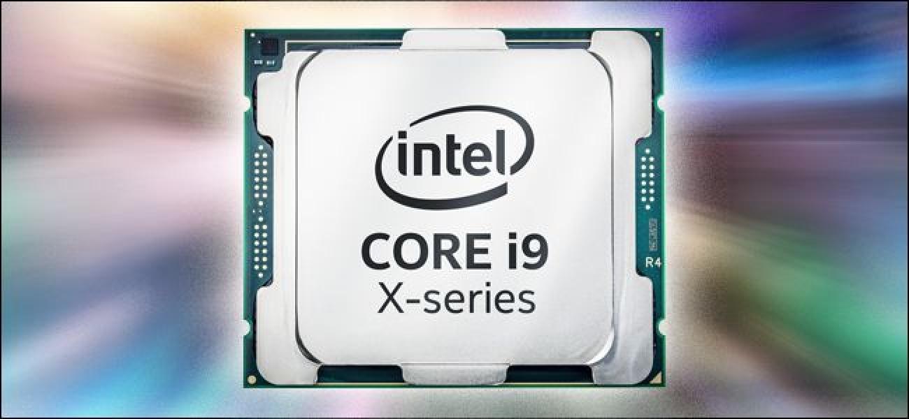 Zein da Intel-en Core Core i9 CPU berria?