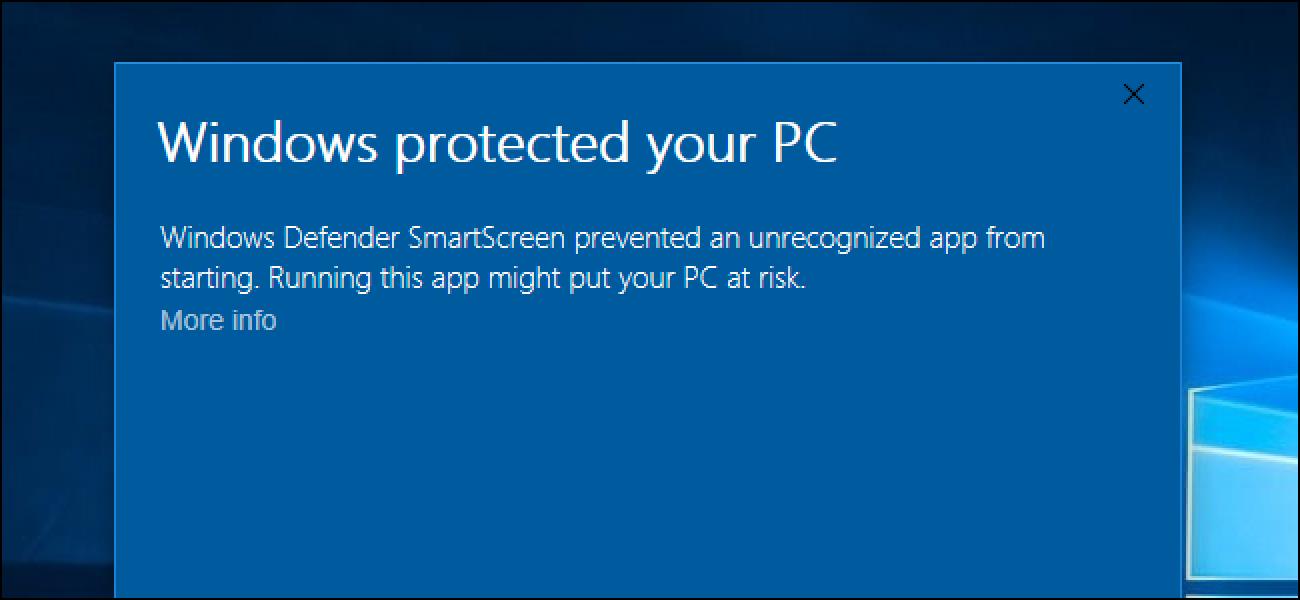 Nola funtzionatzen du SmartScreen Filter-ek Windows 8  eta 10
