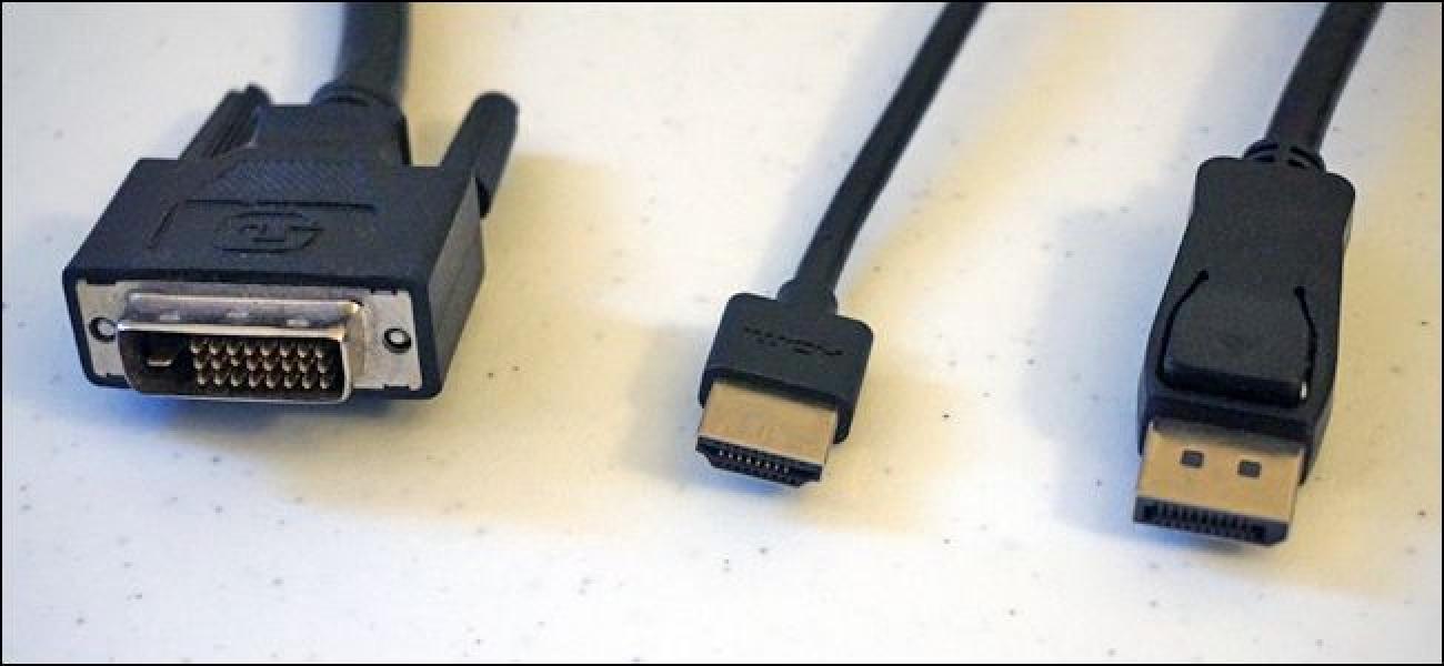 HDMI vs DisplayPort vs DVI: Zein portu nahi duzu zure ordenagailu berrian?