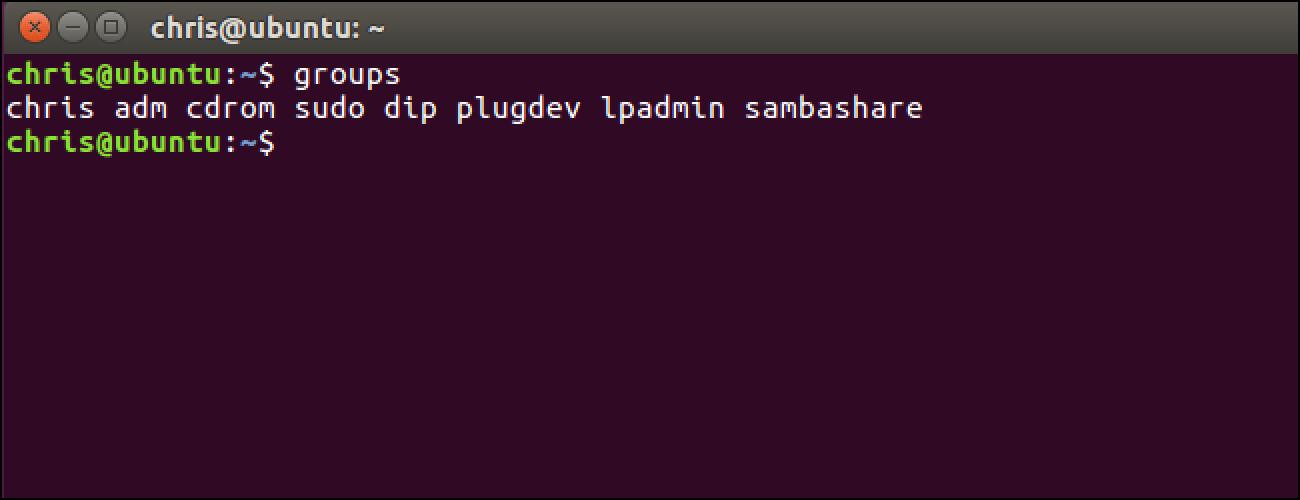 Gehitu Erabiltzailea Linux (edo Bigarren Talde) batera Linux-en