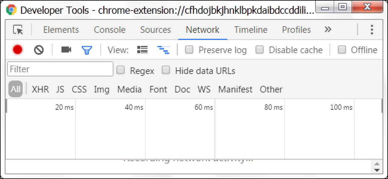 Nola kontrolatzen dituzu Google Chrome luzapenak egindako eskaerak?