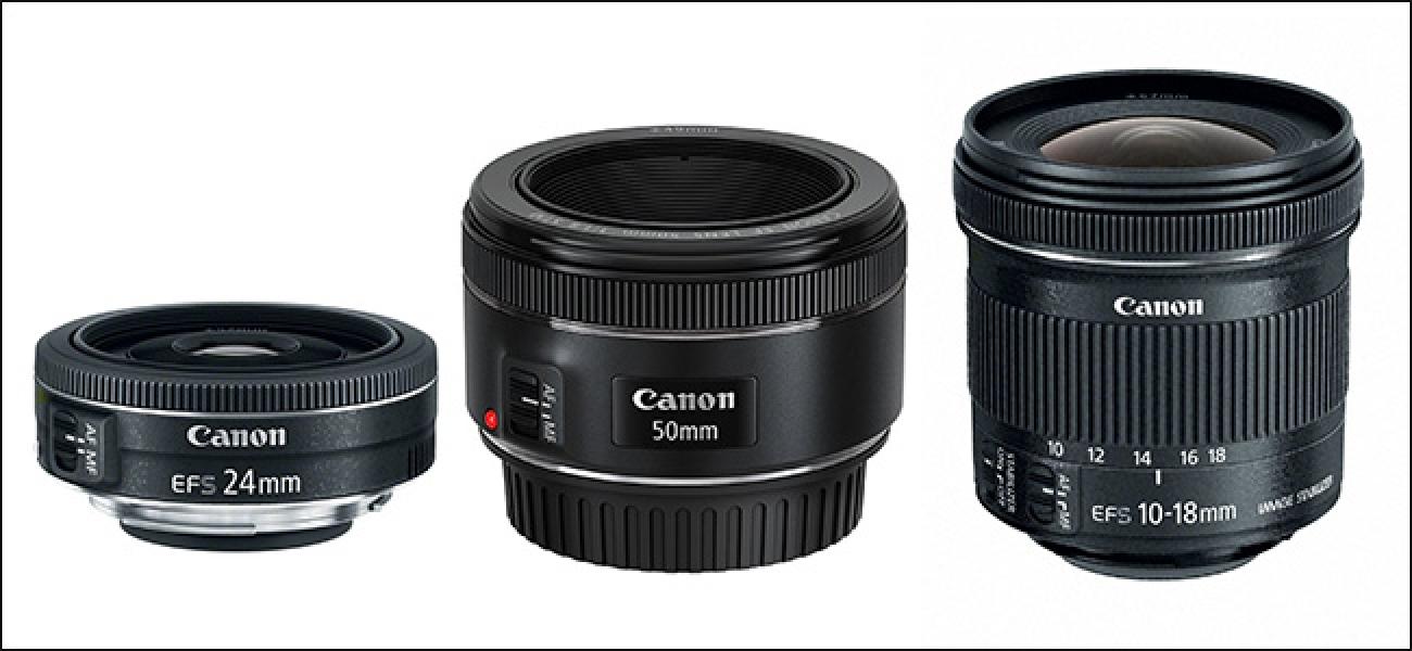Zer lente erosi behar ditut nire Canon kamerarako?