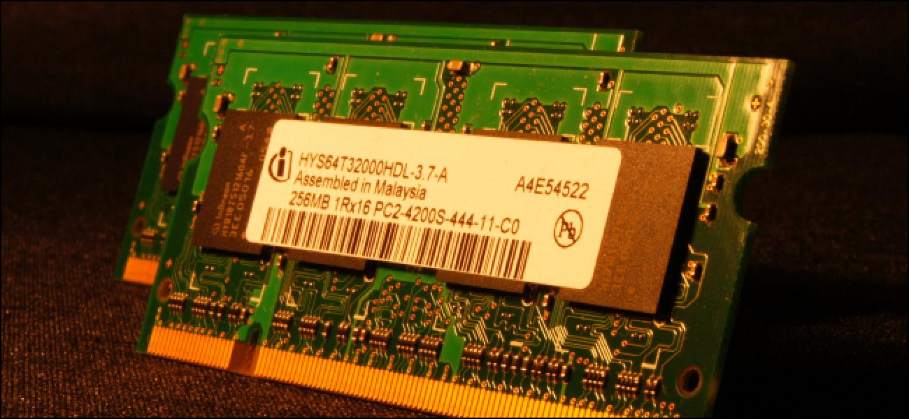 Zer dira Txip Grisak Gauzak RAM moduluak?