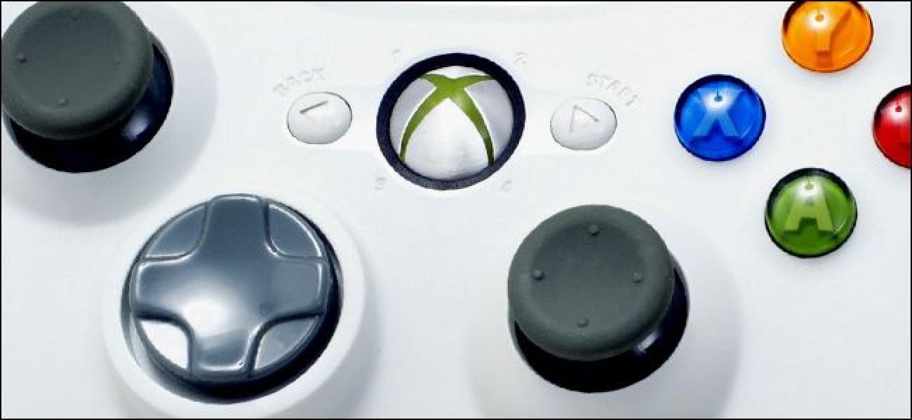 Nola konektatu Haririk gabeko Xbox 360 kontroladorera zure ordenagailura