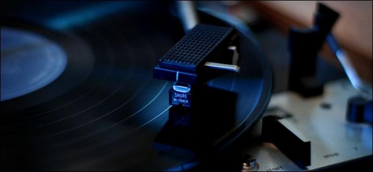 Nola gehitu binilozko grabaketa pop eta ezparatu nostalgikoa MP3 fitxategietan