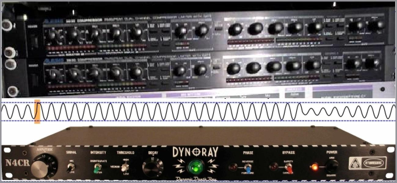 Nola aldatzen da Range Konpresio Dinamikoa Audio?