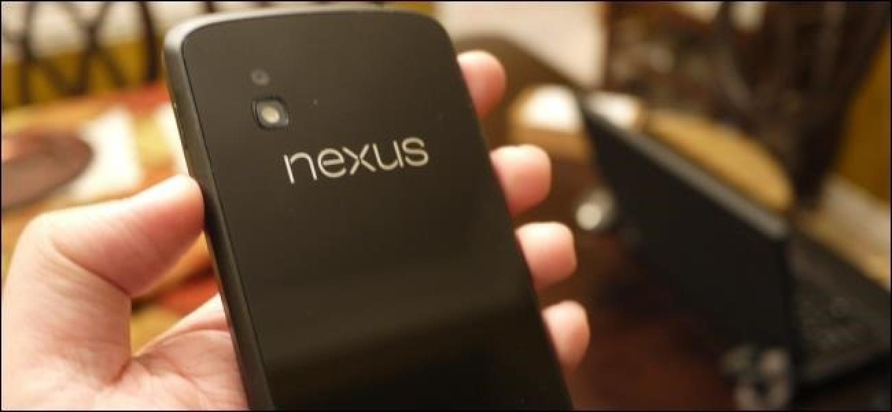 Zergatik Android Geeks erosi Nexus gailuak