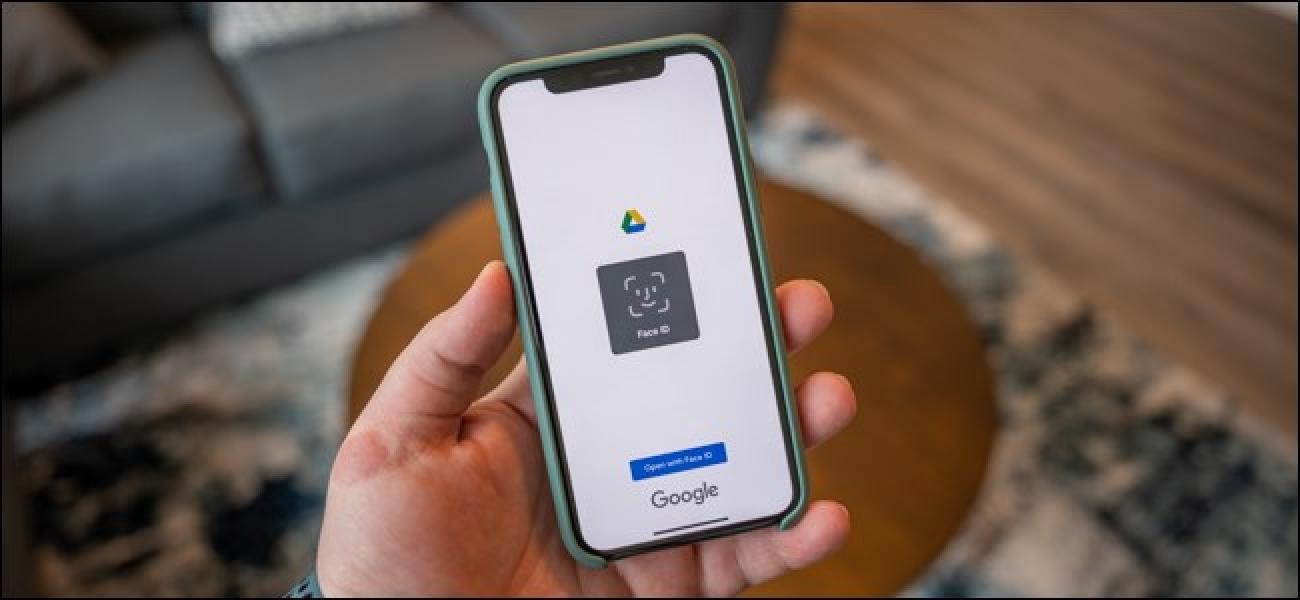 Nola babestu zure Google Drive iPhone eta iPad-en aurpegia IDarekin edo Touch IDarekin