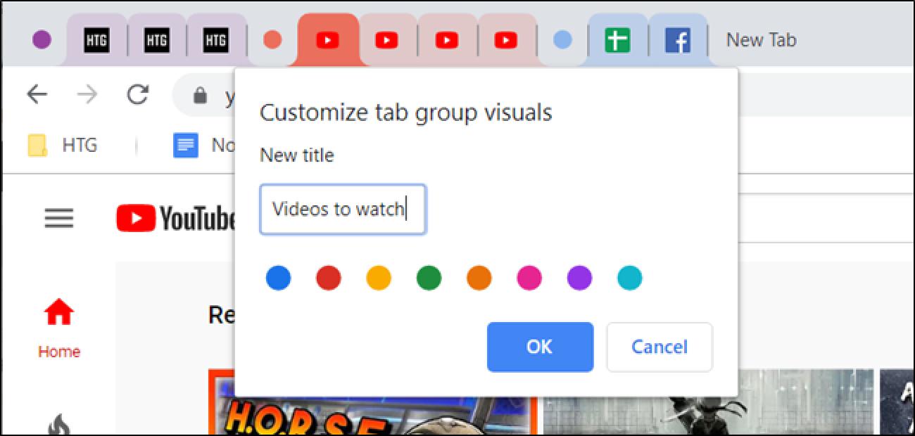 Nola gaitu eta erabili fitxa-taldeak Google Chrome-n