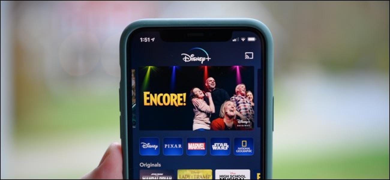Nola deskargatu Disney + Filmak eta telebista-kateak lineaz kanpo ikusteko