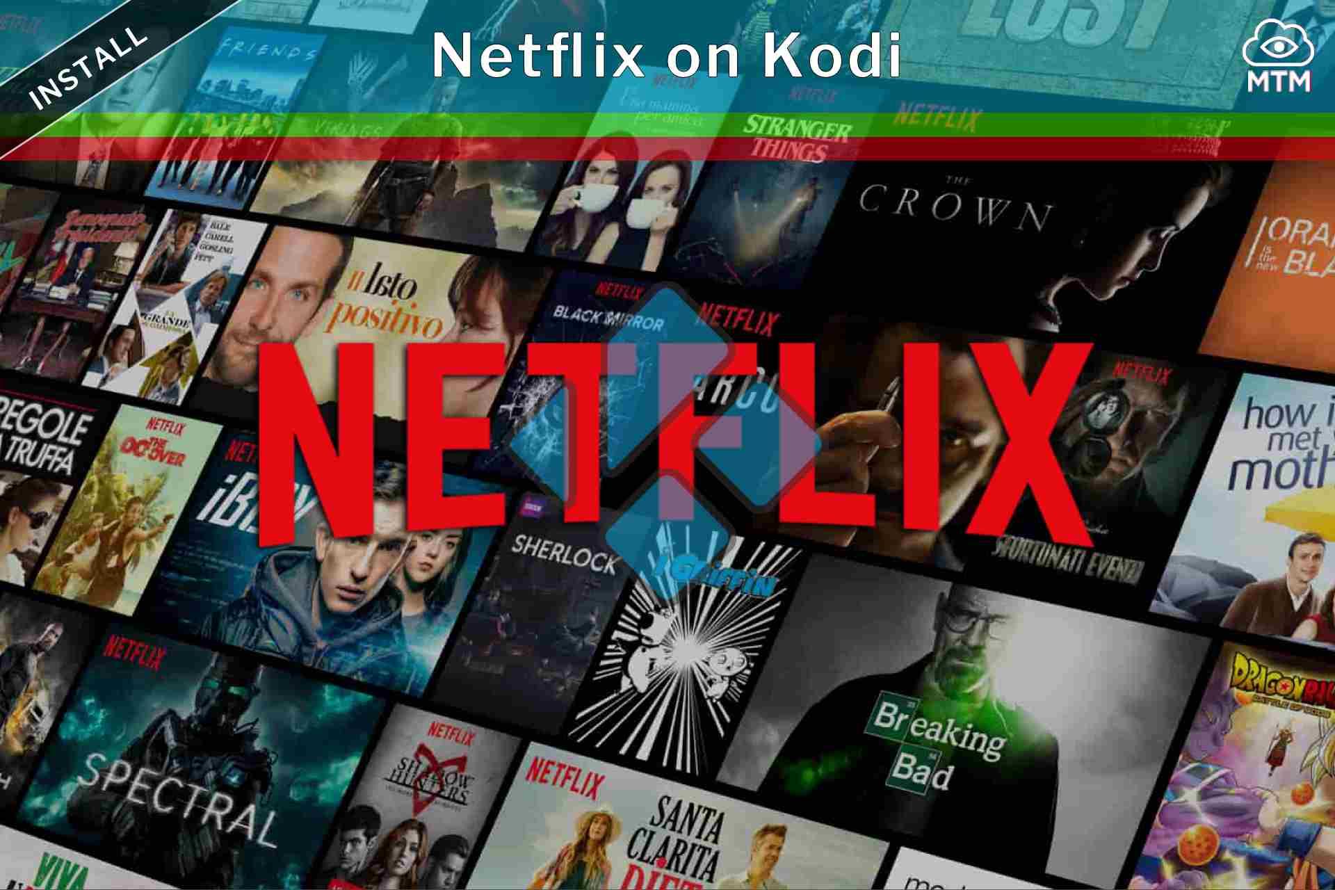 Deskargatu eta instalatu doako Kodi Netflix Addon