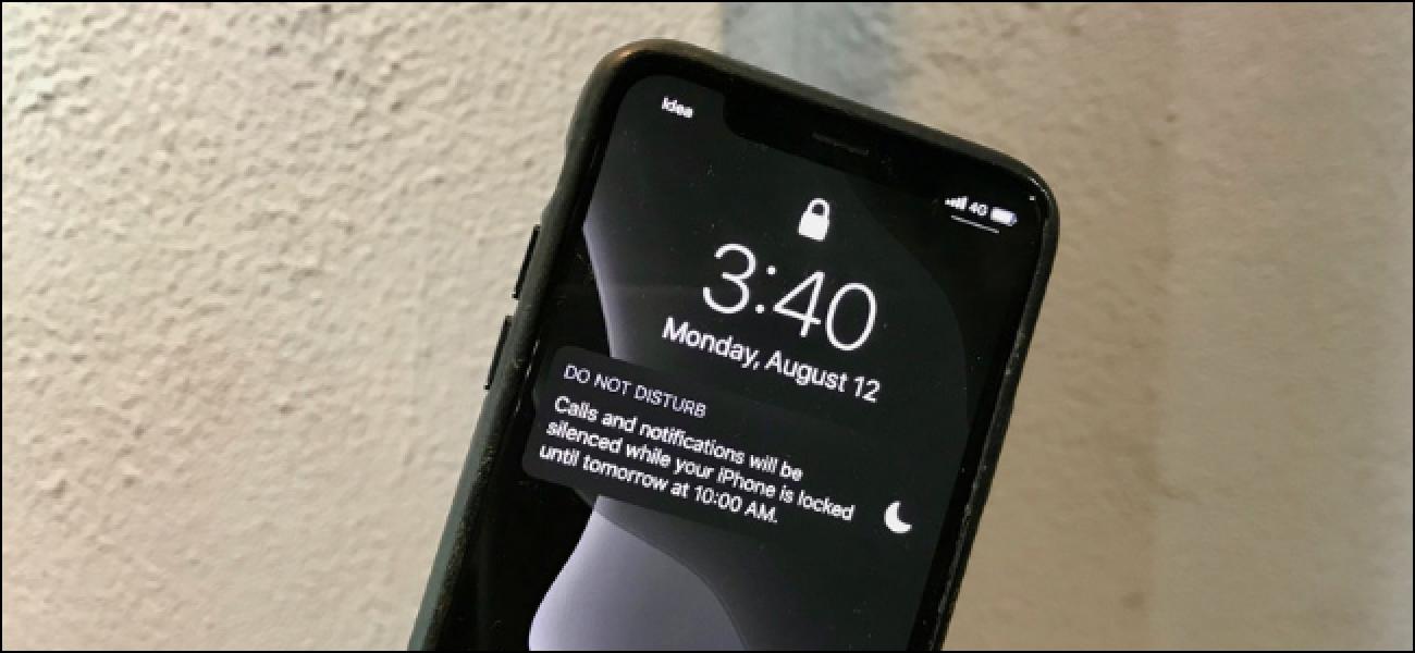 Nola utzi kontaktu bat saihesteko iOS-ek ez dezala modua