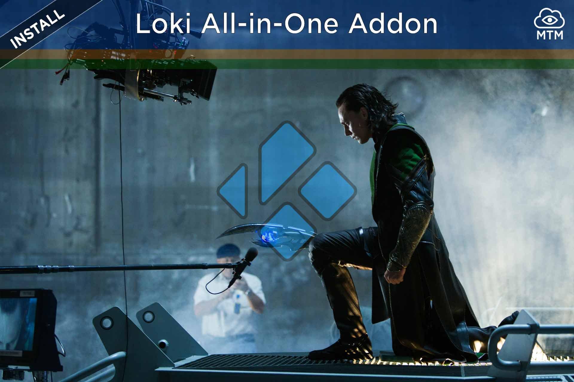 Nola instalatu Loki All-in-One Kodi Addon