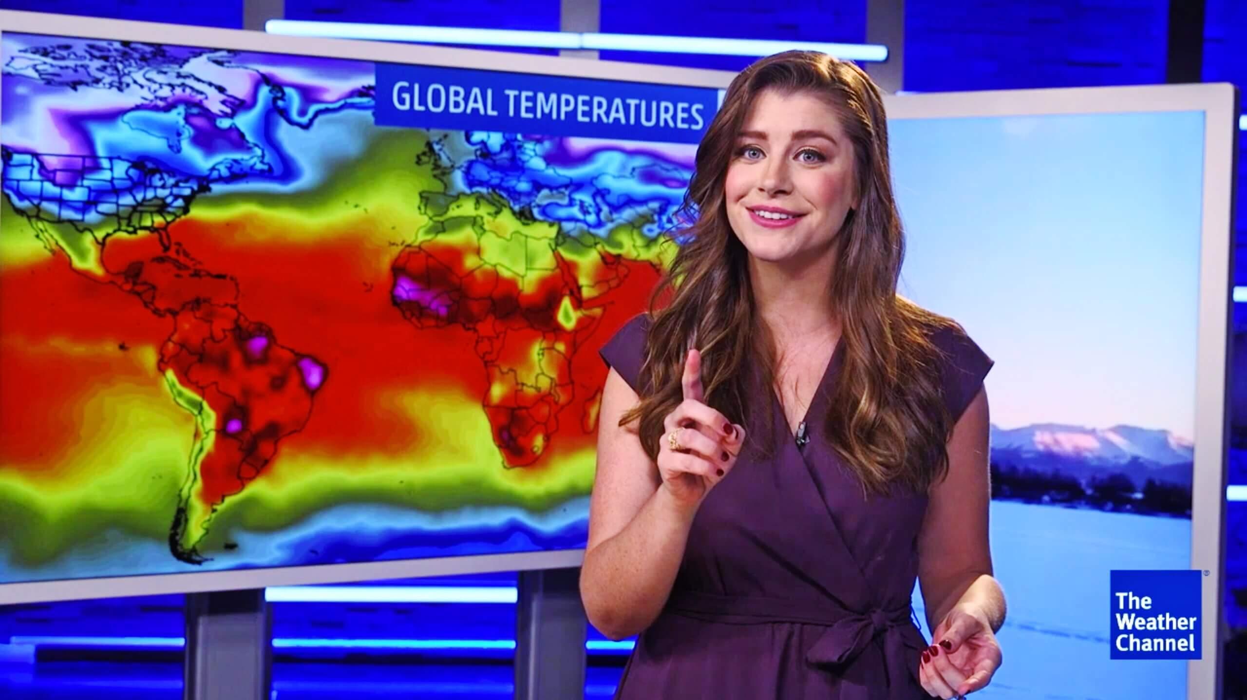 Nola ikusi The Weather Channel DirecTV-n