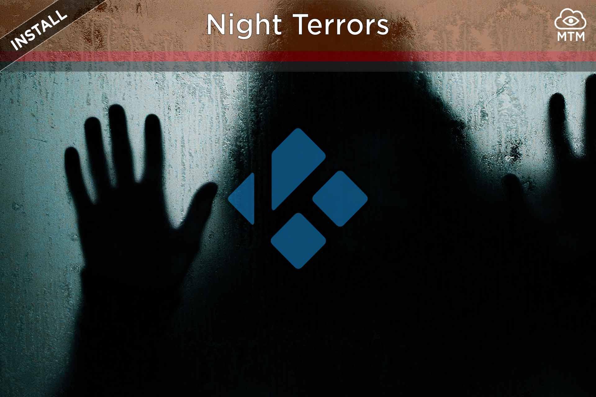 Nola instalatu Night Terrors Kodi Addon