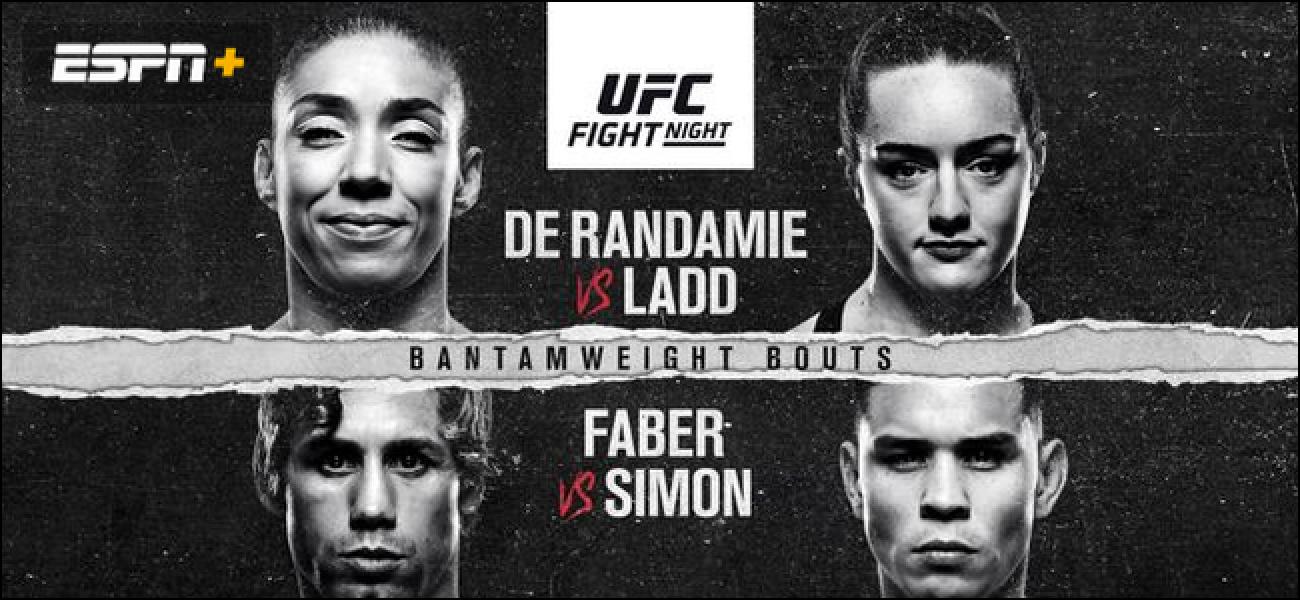 Nola streaming UFC Fight Night 155 de Randamie vs Ladd Online