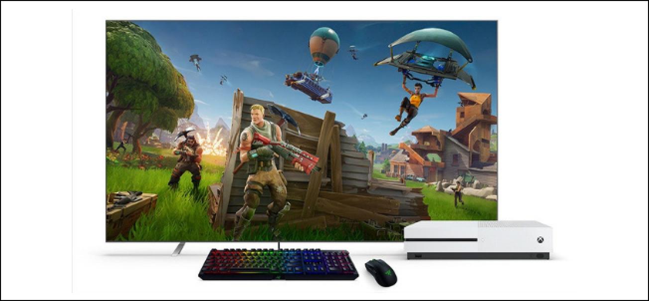Gaur egungo Xbox One eguneratzeak saguaren eta teklatuaren laguntza gehitzen du