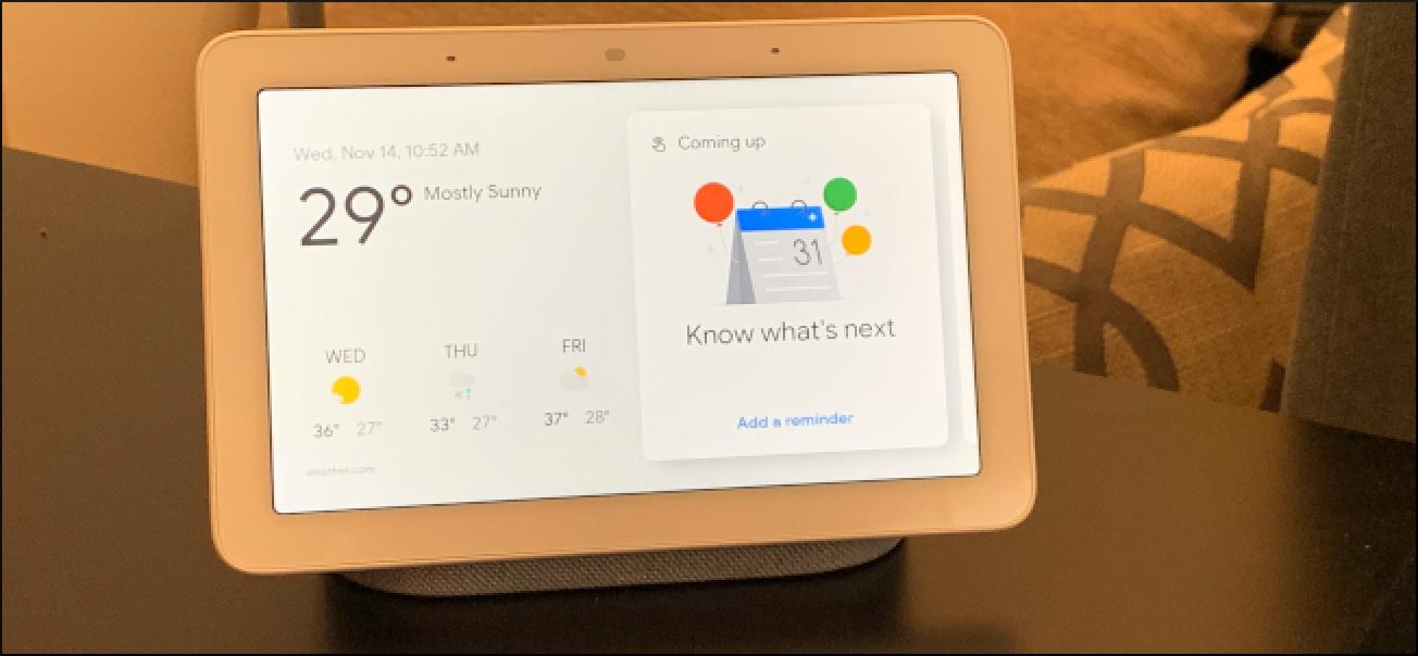 Oporretan garaiz, Googlek Smarthome funtzio berriak aurkezten ditu