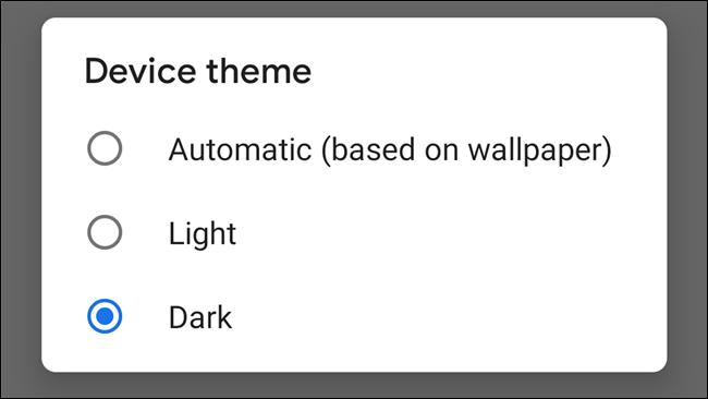 Google-k bateria aurrezteko modu ilunen aukera gehiago nahi ditu bere aplikazioetan 2