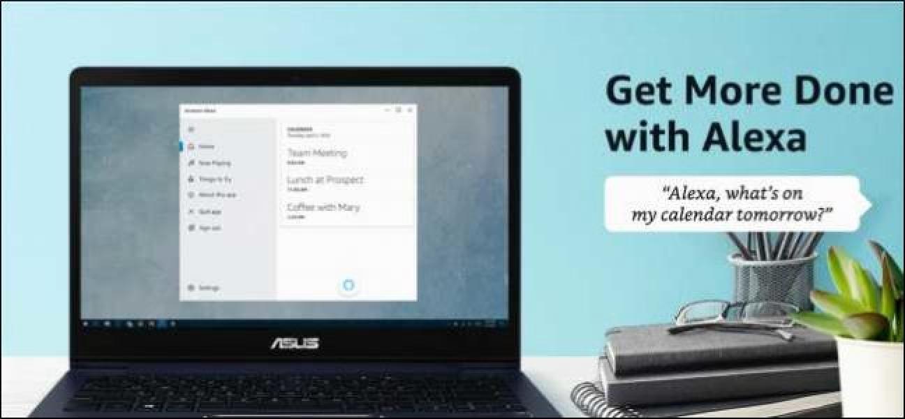 Orain deskarga dezakezu Amazon Alexa aplikazioa on Windows 10
