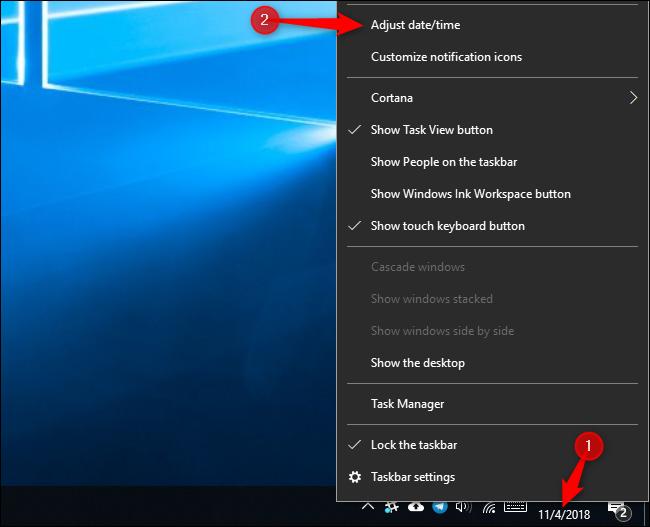 """batzuk Windows 10 erlojuak ez dute """"atzera egin"""" hemen duzu nola konpondu 2"""