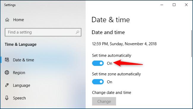 """batzuk Windows 10 erlojuak ez dute """"atzera egin"""" hemen duzu nola konpondu 3"""