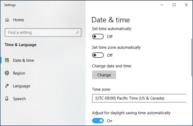 """batzuk Windows 10 erlojuak ez dute """"atzera egin"""" hemen duzu nola konpondu 5"""