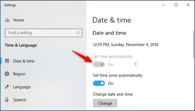 """batzuk Windows 10 erlojuak ez dute """"atzera egin"""" hemen duzu nola konpondu 4"""