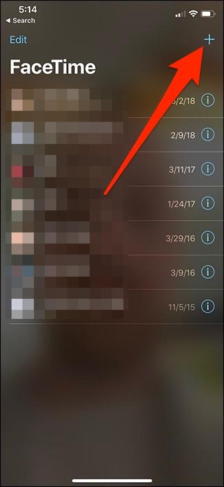 Nola erabili Taldea FaceTime iPhone eta iPad-en 2