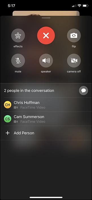 Nola erabili Taldea FaceTime iPhone eta iPad-en 8