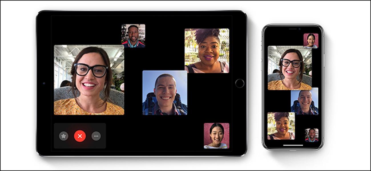 Nola erabili Taldea FaceTime iPhone eta iPad-en