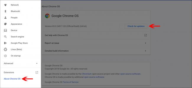 Chrome OS 70-ek Tablet modua Chromebook-era hobeto eramaten du, hona hemen berriak 5