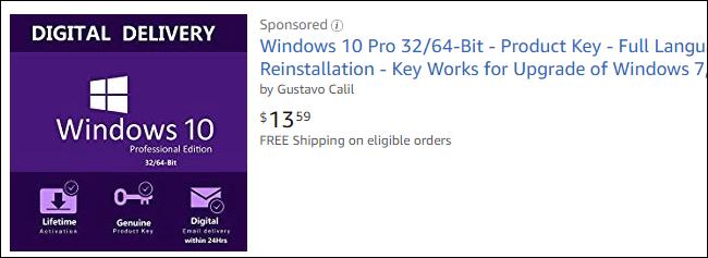 Kontuz ibili kontratazioan Windows 10 Noiztik Amazon 2