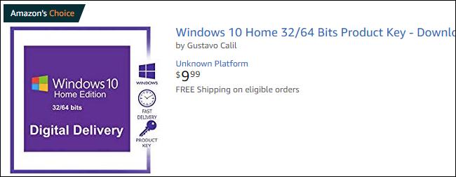 Kontuz ibili kontratazioan Windows 10 Noiztik Amazon 3